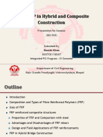 Use of FRP in Hybrid and Composite Construction