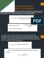 Calculos de Proceso de Endulzamiento Con Aminas