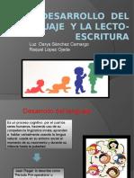 Desarrollo Del Lenguaje y La Lecto-escritura