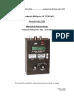 Mfj259b Manual