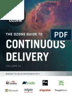 Dzone Continuous delivery Volume 3