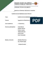 Ejercicios Medidas Instrumentacion Electronica