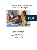early-childhood-care-and-education-the-importance-and-later-impact final