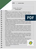 Nota de Clase 13 Auditoria Forense