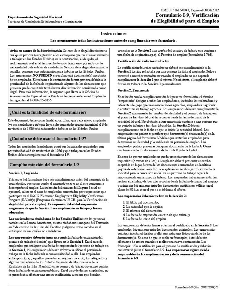 Excepcional Certificado De Nacimiento Número De Documento I9 Patrón ...