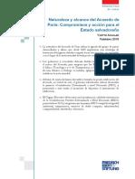 Naturaleza y Alcance Del Acuerdo de Paris