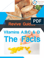 Vitamins A, B, C and D The Facts