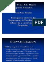 Ofelia Woo Mujeres Migrantes