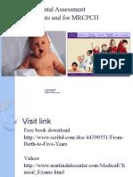 Developmental Assessment for Pediatric Residents