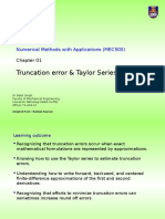 C01.03 Truncation Errors & Taylor Series