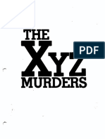 XYZ Murders (Aka Crimewave)