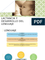 Lactancia Materna  y Desarrollo del Lenguaje