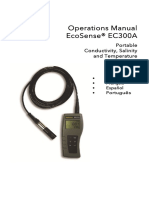 Manual Medidor de Salinidad EC300A-Conductivity-Meter