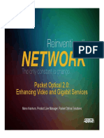 Adtran_Packet Optical 2.0 - Supporting Video and Gigabit Services