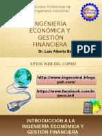 Curso de Ingenieria Económica y Gestión Financiera Unt - Diapositivas 2015