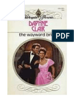 D Clair the Wayward Bride