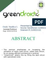 Greendroid seminar