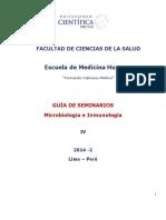 ++GUÍA DE SEMINARIOS_MICROBIOLOGÍA E INMUNOLOGÍA_ 2014_2 CIENTÍFICA_FCS (3)