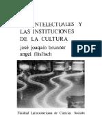 Los Intelectuales y Las Instituciones en La Cultura Cap 1