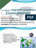 Integración Económica y Globalización