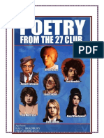 POETRY FROM THE 27 CLUB