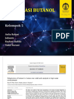 PPT Teknik Reaksi Kimia 1 - Dehidrasi Butanol