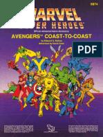 TSR6874 MA2 Avengers Coast to Coast Reduced