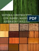 Sistemas Bambu Madera