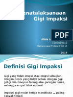 Odontektomi - Afida Luthfi Yuvana-1106010811-Integrasi 1