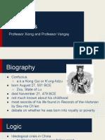 confucius say    - toumong xiong jonathan vangay