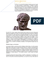 1) Biografía de Aristóteles