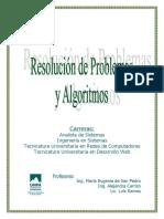 Apunte__U1_2014 RESOLUCION DE PROBLEMAS Y ALGORITMOS