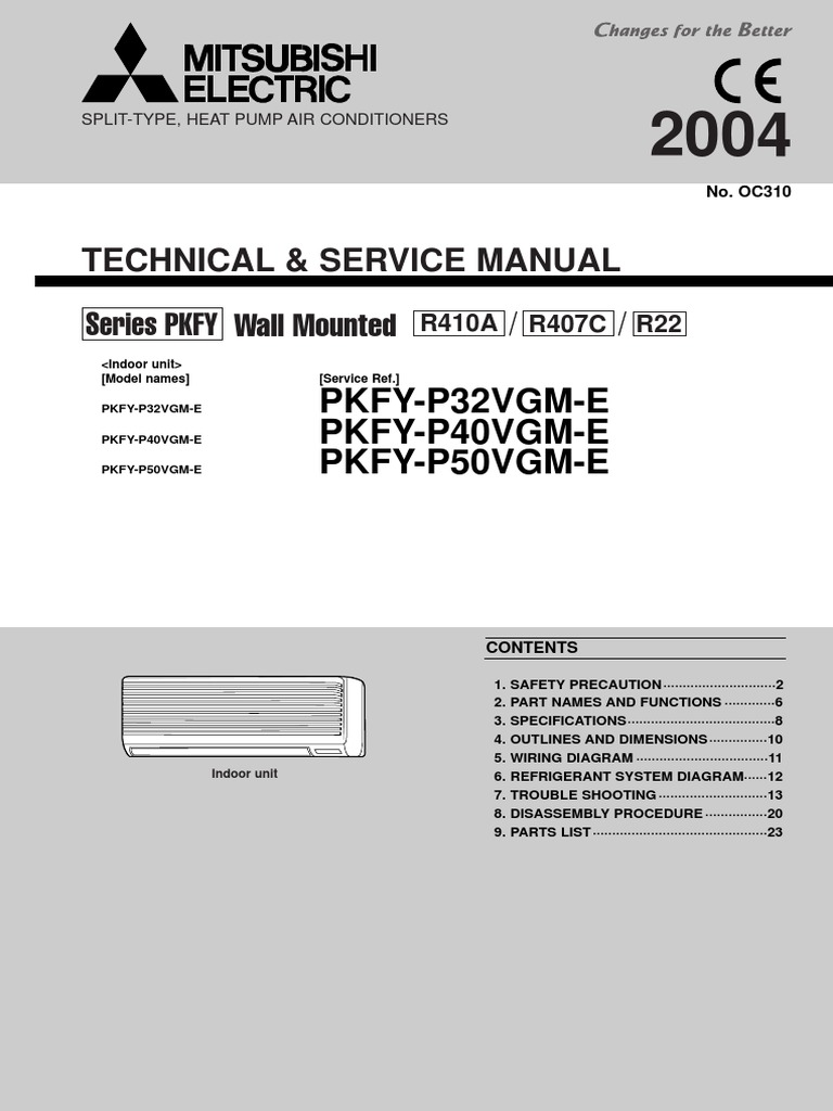 Pkfy P32 P50vgm E Tsoc310 Thermostat Hvac Wiring Diagram Of Refrigeration System