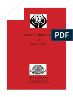 Economic Integration in South Asia (2005)