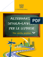 GUIDA ALTERNANZA SCUOLA LAVORO DELLA CONFINDUSTRIA