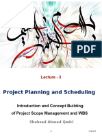 Lecture-3 Scope Management