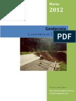 Folleto de Geotecnia
