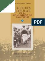 Cultura Popular Comunidad de Calatayud. Tomo II