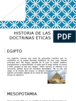 Historia de Las Doctrinas Éticas