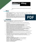 ResumeVitug2015 Updated (1)