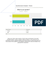Audience Research Analysis - Poster