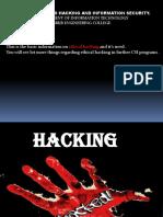 Hacking for CSI