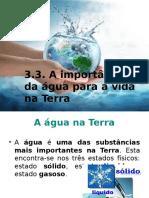 A Importancia Da Agua