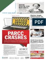 Asbury Park Press front page Thursday, April 21 2016
