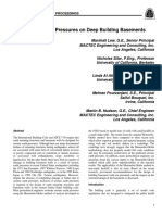 Seismic Earth Pressures on Deep Building Basements