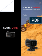 Garmin VIRB X, VIRB XE and VIRB Elite HD Action Cameras