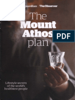 Mount Athos Plan Healthy Living Pt 1