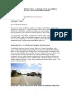 "Open Letter to Hon. Narendra Modi Regarding ""Killer"" Traffic on Indian Roads - 21 April 2016"