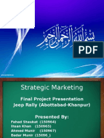 Strategic Marketing Presentation