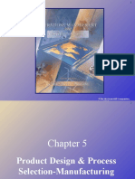 Ch5(Product Design & Process Selection-Manufacturing)